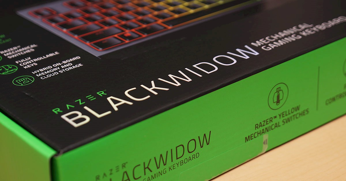 Razer BlackWidow JP Yellow Switchレビュー!と掃除
